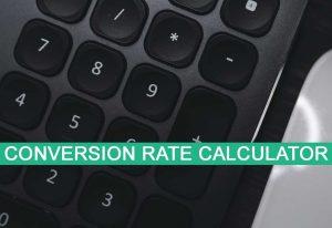 conversion rate calculator