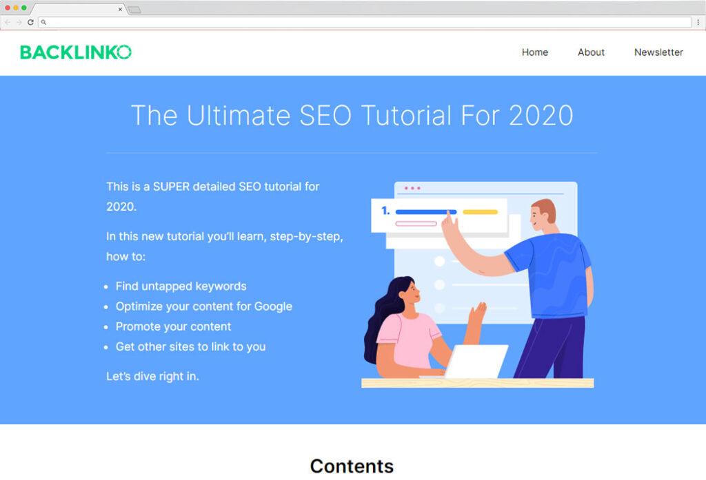 free seo course recommendation backlinko