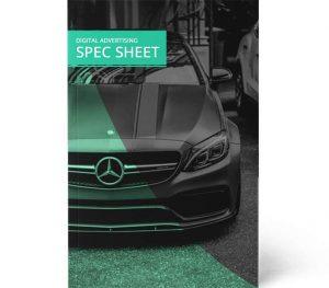 free spec sheet template