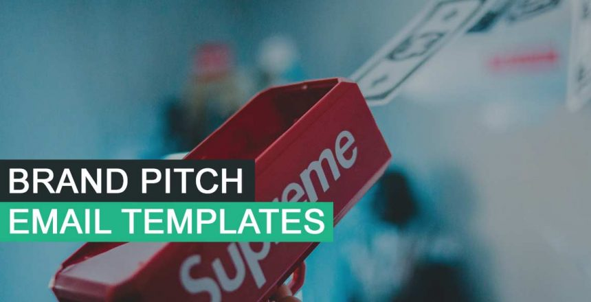 brand pitch email templates